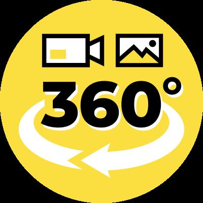 360度動画・静止画撮影