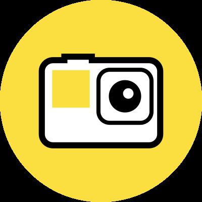 アクションカメラ撮影
